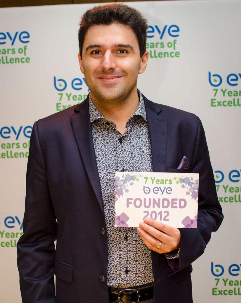 B EYE celebrated its 7th anniversary 7 years B EYE 10 1